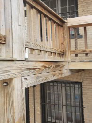 Porches deck repair multi unit violation Chicago Inspectors